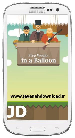 دانلود بازی Five weeks in a balloon v1.2 – آندروید