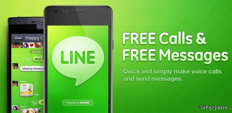 دانلود LINE: Free Calls & Messages 6.0.2 – تماس و پیامک رایگان اندروید +