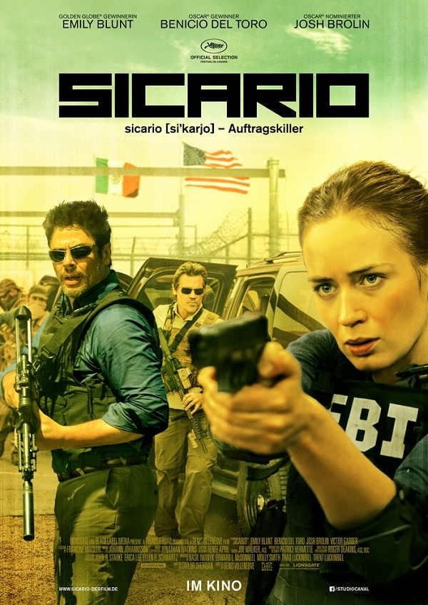 دانلود فیلم سیکاریو Sicario 2015 با لینک مستقیم