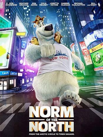 دانلود انیمیشن نورم شمال Norm of the North 2016