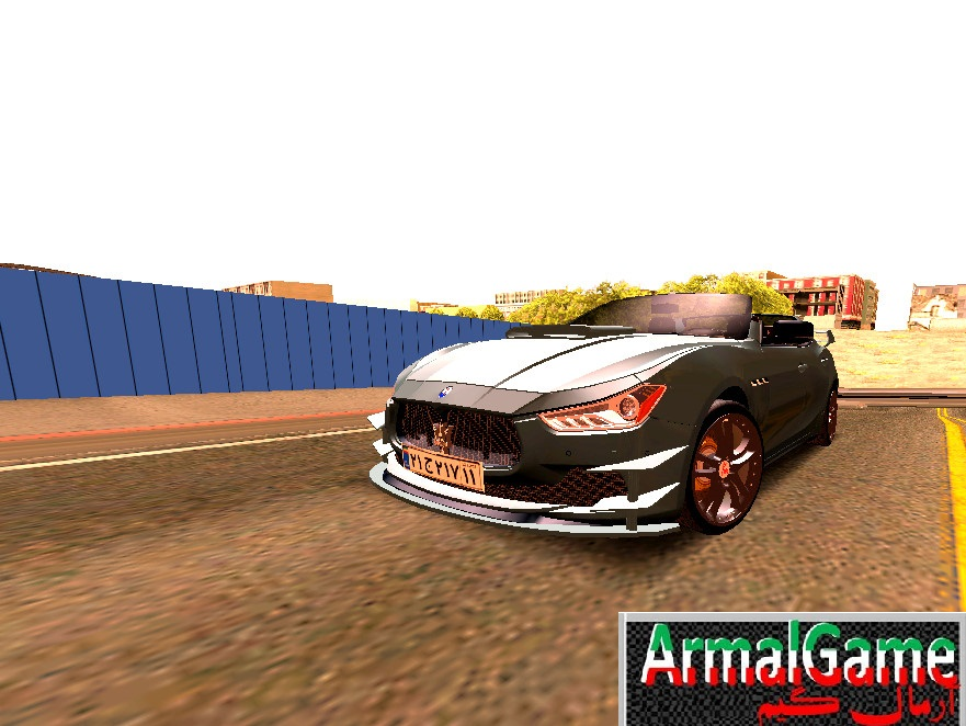 دانلود ماشین اسپرت Maserati sport