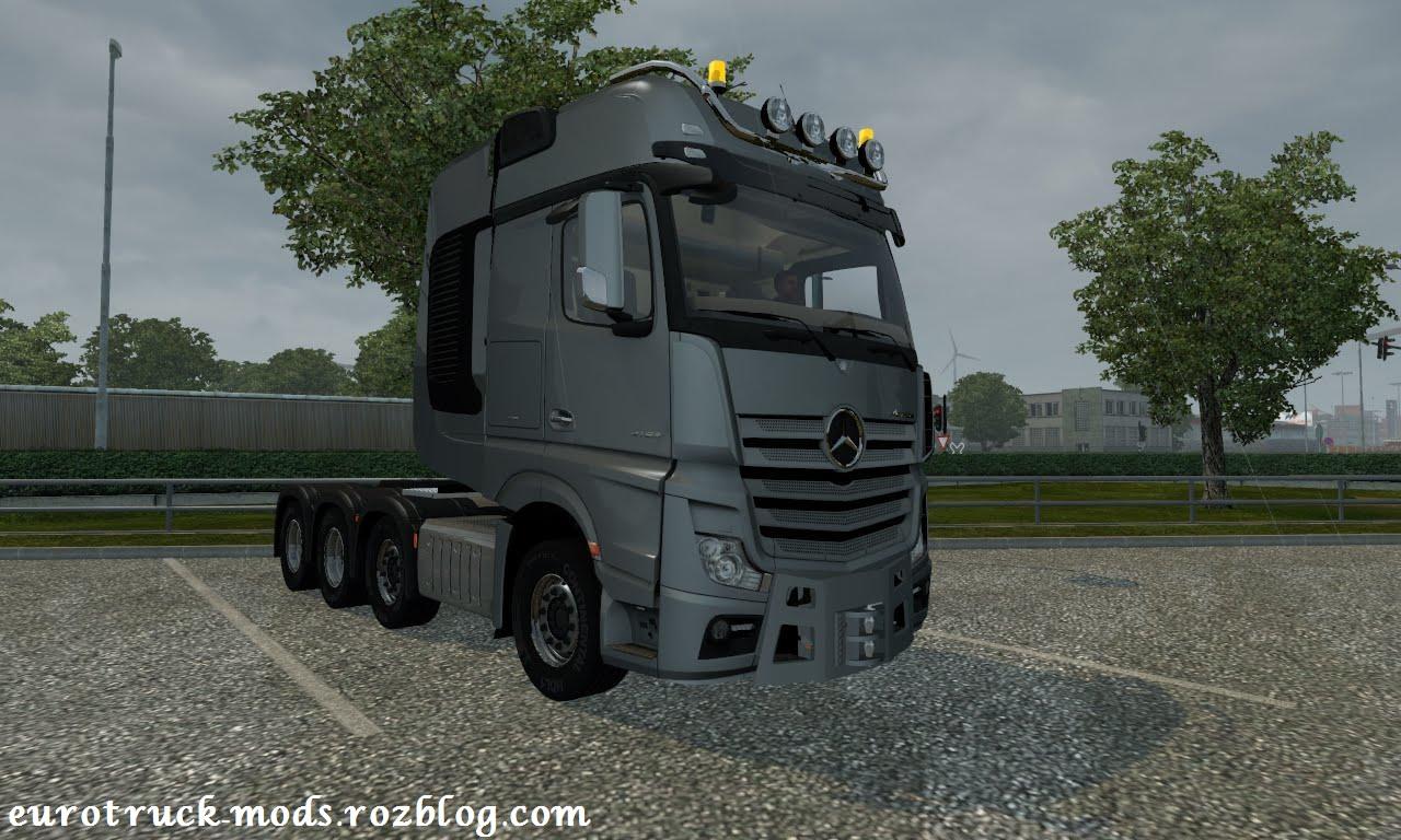 کامیون فوق العاده مرسدس بنز MP4 4163 SLT برای یورو تراک