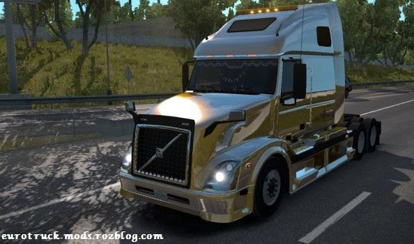 دانلود کامیون فوق العاده ولوو VNL 670 برای امریکن تراک