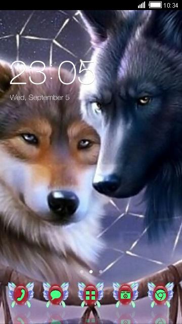 تم زیبای گرگها برای سی لانچر