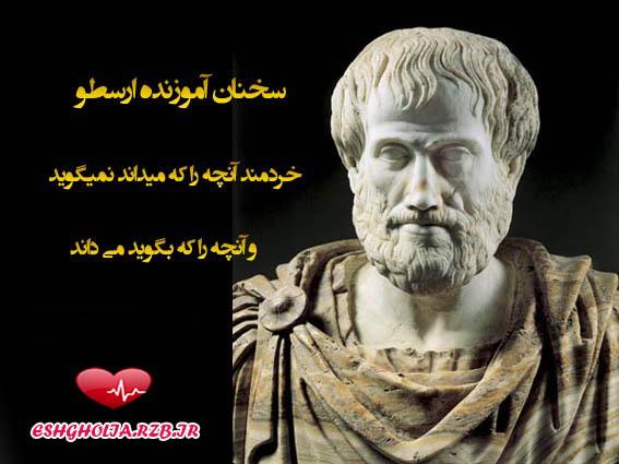 سخنان ارزشمند وناب ارسطو