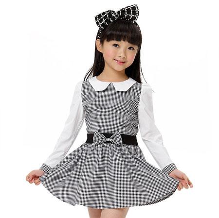 مدل جدید و شیک لباس دختر بچه ها کره ای 2016-95