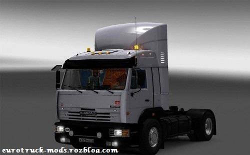 دانلود کامیون فوق العاده kamaz 5400 ورژن 6 برای یورو تراک