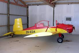 هواپیمای یک نفره ساده چوبی