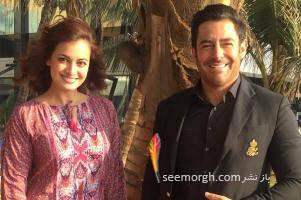 دیا میرزا بازیگر زن هندی تولد محمدرضا گلزار را تبریک گفت! + عکس