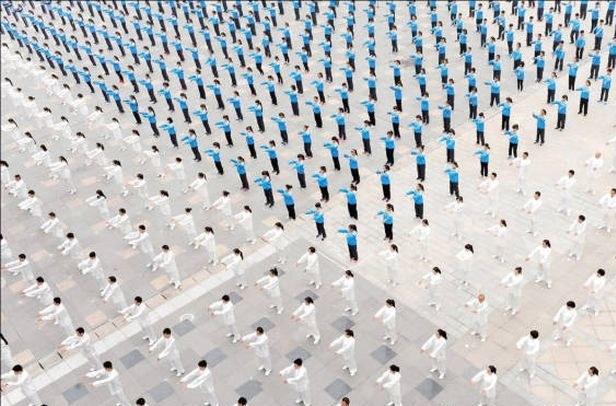 تصاویر دیدنی از نظم شگفتانگیز چینیها