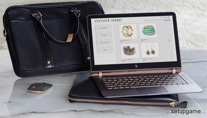 HP از باریک ترین لپ تاپ دنیا پرده برداشت، Spectre با نمایشگر 13 اینچی و ضخامت 10 میلی متری