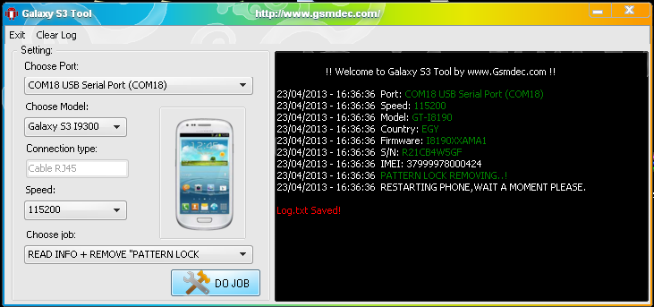 دانلود برنامه مدیریت گوشی سامسونگ گلگسی  S3