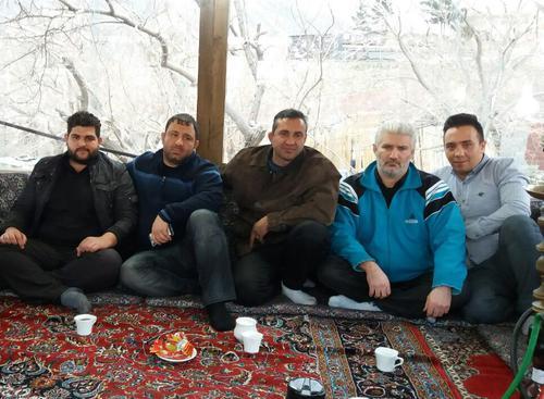 عکس جدید از هانی کرده با دوستان