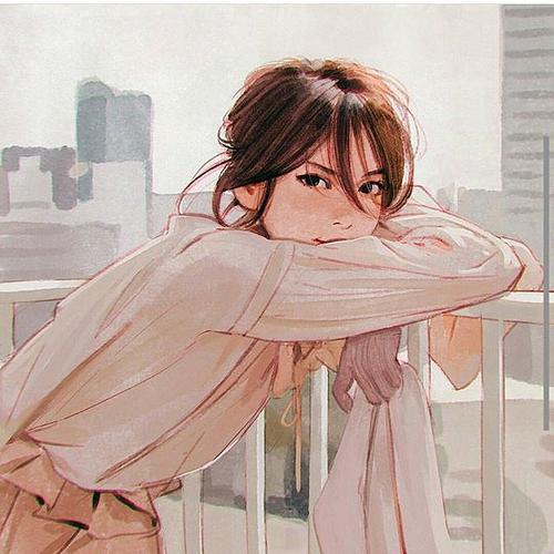تصاویر دخترونه نقاشی شده مخصوص پروفایل 95