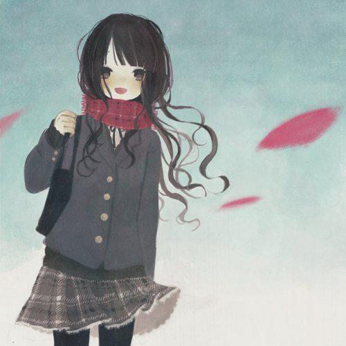 عکس نقاشی انیمیشنی دخترونه برای پروفایل