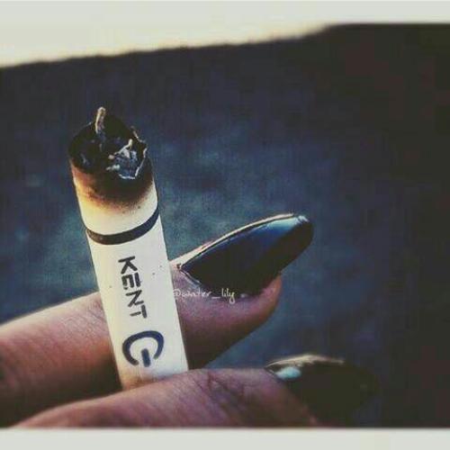 کانال استیکر سیگار در تلگرام