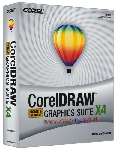 دانلود نرم افزار گرافیک کورل دراو – CorelDRAW Graphics Suite X4
