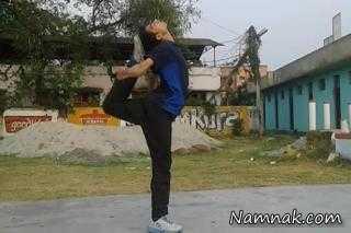 رکورد عجیب کاراته باز نپالی!+ تصاویر
