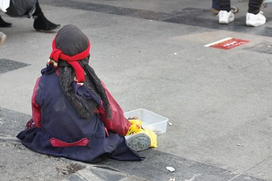 مظنه درآمد گدایان در تهران چند؟+تصاویر