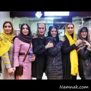 بازیگران زن ایرانی در تمرین فوتسال به یاد ناصر حجازی + عکس