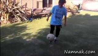 جنجال پیوستن دختر فوتبالیست به تیم فوتبال پسران + تصاویر