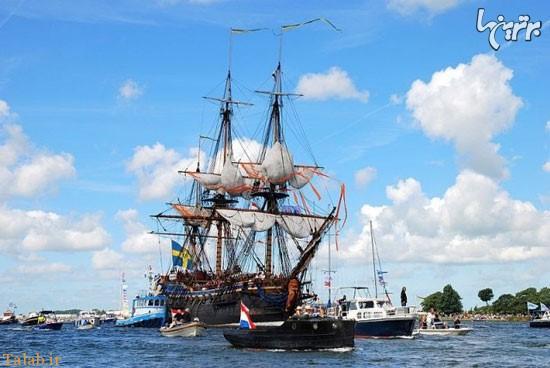 دیدنی ترین وقایع دریایی دنیا در آمستردام (عکس)