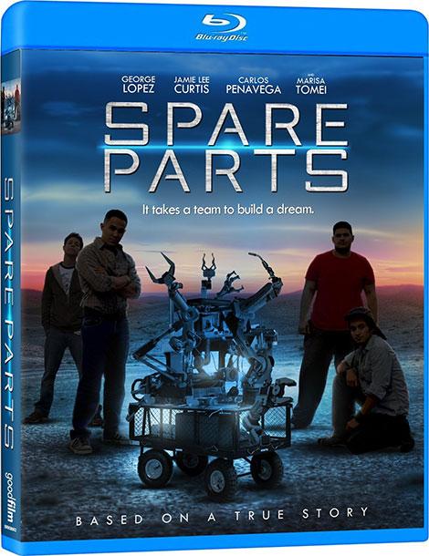 دوبله پارسی فیلم قطعات یدکی Spare Parts 2015