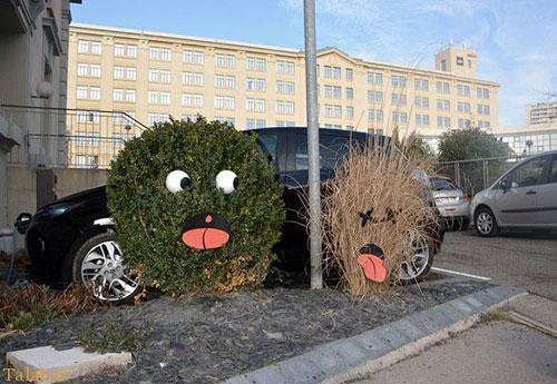 هنر جالب خیابانی به سبک خرابکاران شهری (عکس)