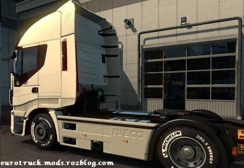 دانلود مد تایر جدید برای همه ی کامیون های بازی یورو تراک