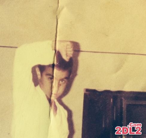 عکس از کودکی محسن تنابنده با لباس کاراته