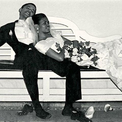 اوباما در روز عروسی اش