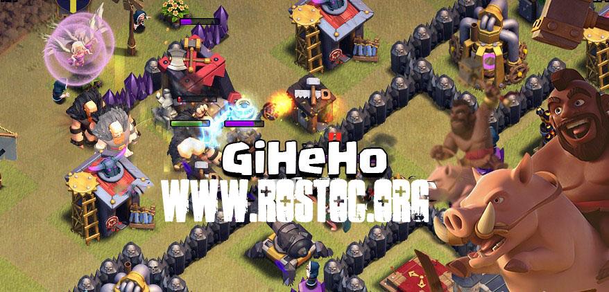 استراتژی GiHeHo برای تاون هال ۸ و ۹