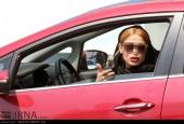 برخورد با کشف حجاب در خودرو + تصاویر