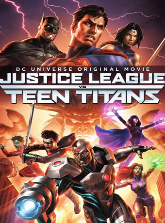 دانلود انیمیشن 2016 Justice League vs. Teen Titans