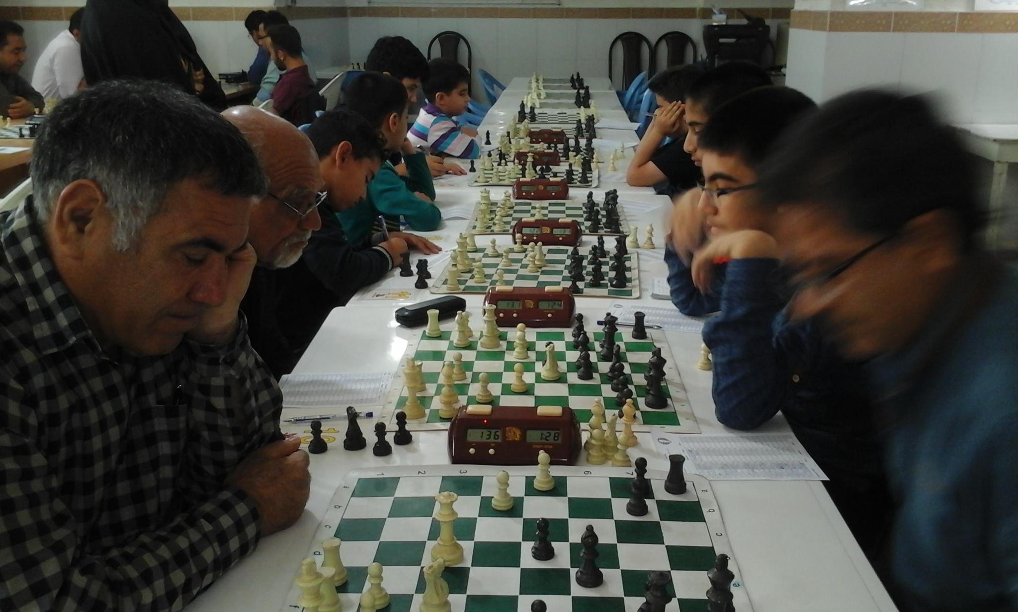 پایان مسابقات شطرنج (جام نوروز)شهرستان کازرون