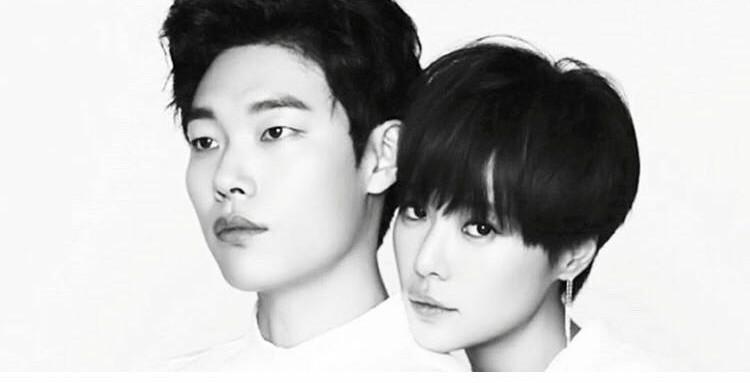 عكس هاي هوانگ جانگ اوم و ryu joon yeol براي سريال جديدشون كه از چند هفته ديگه شروع ميشه