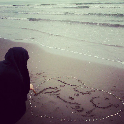دلنوشته کاربران - من حجاب را دوست دارم