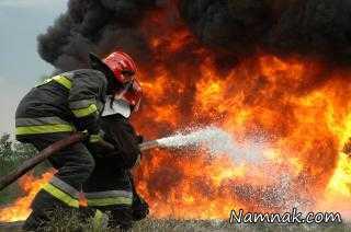 جزئیات آتش سوزی گسترده در مجتمع تجاری مشهد + عکس