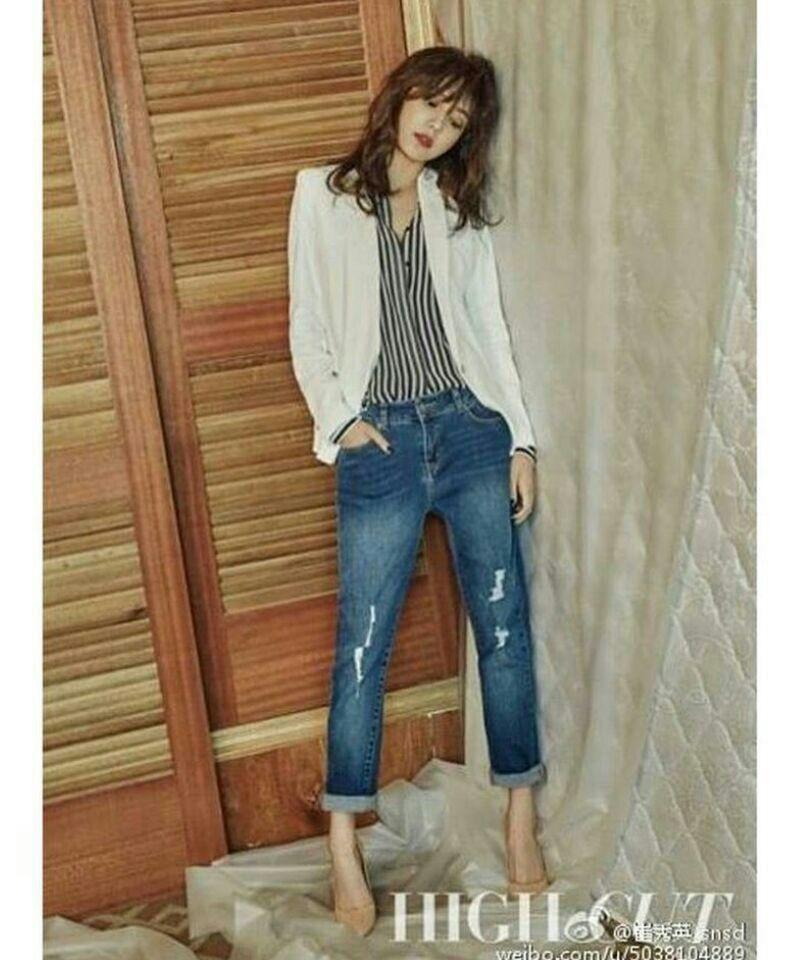 عکس sooyoung برای high cut 🎊😍