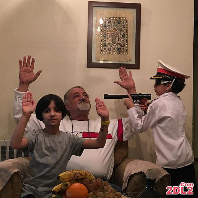 عکس منتشر شده از لاله صبوری به مناسبت روز پدر