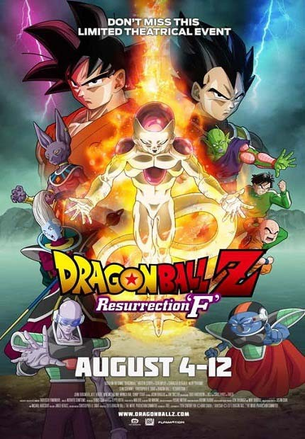 دانلود انیمیشن Dragon Ball Z: Resurrection 'F 2015
