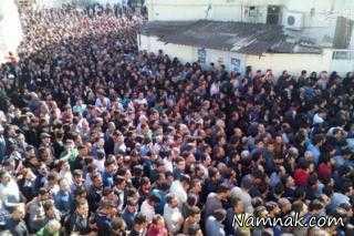 """مراسم تشییع و خاکسپاری """"مهرداد اولادی"""" در قائمشهر + تصاویر"""