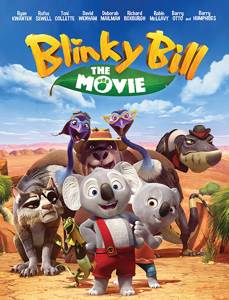 دانلود انیمیشن Blinky Bill the Movie 2015 با کیفیت عالی