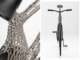 ساخت اولین دوچرخه فلزی با چاپ سه بعدی