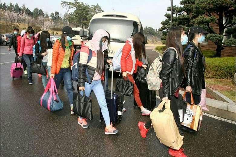 💢 12 پیشخدمت زن که برای کره شمالی کار میکردند از چین به کره جنوبی فرار کردند