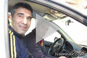 تصادف احمدرضا عابدزاده در جاده چالوس