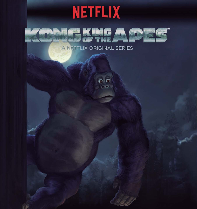 فصل 1 انیمیشن کونگ: پادشاه میمون ها Kong King of
