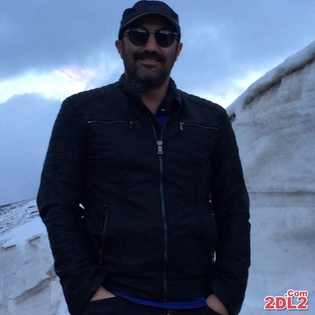 عکس از محسن تنابنده در صحنه ای از فیلم جدیدش
