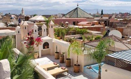 ریاد، قصر سنتی مراکش + تصاویر
