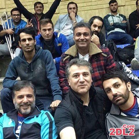 عکس سلفی جدید از علی لهراسبی خواننده ایرانی